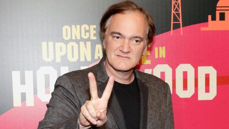 Quentin Tarantino Füße