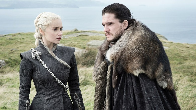 Jon Snow and Daenerys.