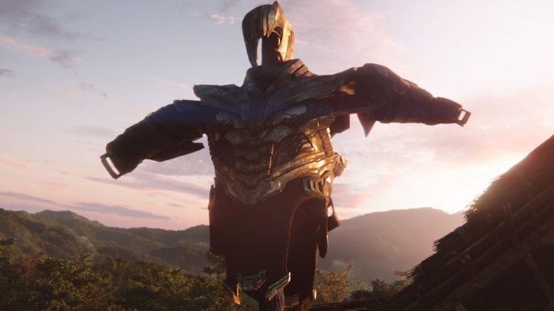 Armadura de espantalho de Thanos