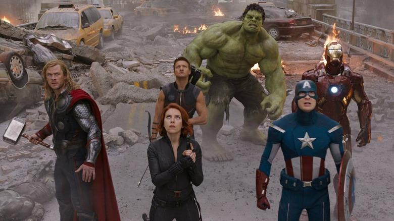 Os seis Vingadores originais