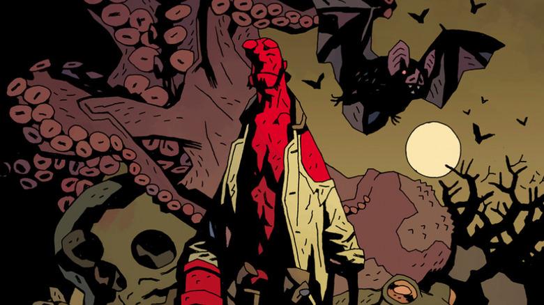 Mike Mignola Hellboy art