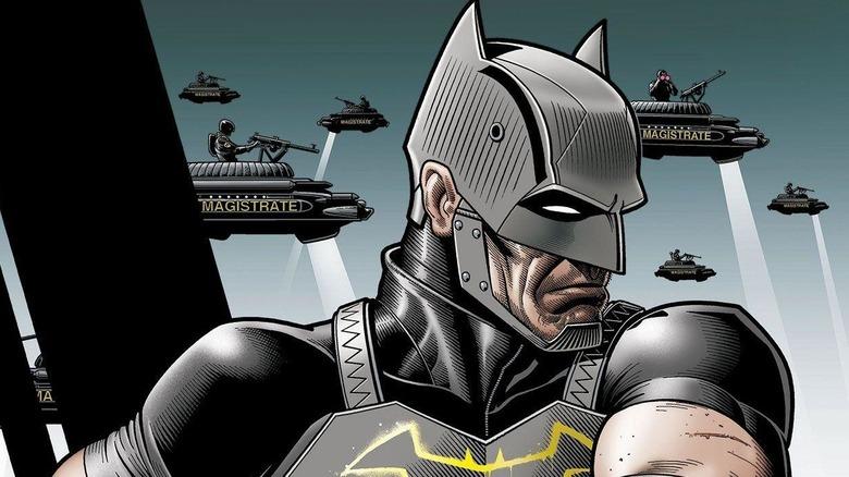 Batman with pointy ears