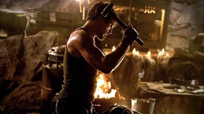 Tony with hammer