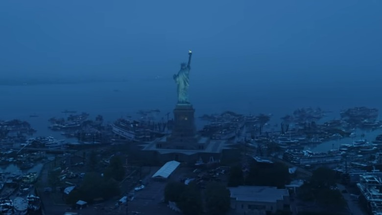 Liberty Island Avengers Endgame