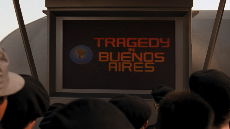 News report of Buenos Aires meteor strike