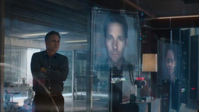 Mark Ruffalo, Paul Rudd, Letitia Wright in Avengers: Endgame