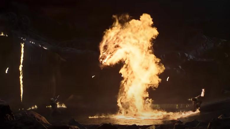 Dragon fatality fire Mortal Kombat movie trailer