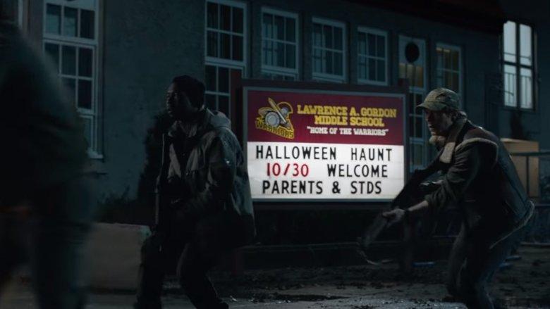 predator school sign