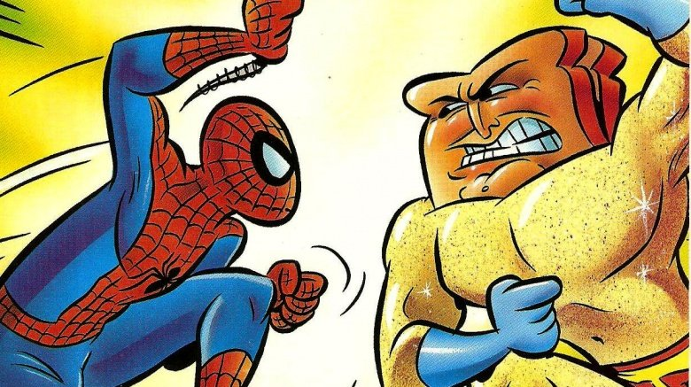 Spider-Man and Powdered Toast Man