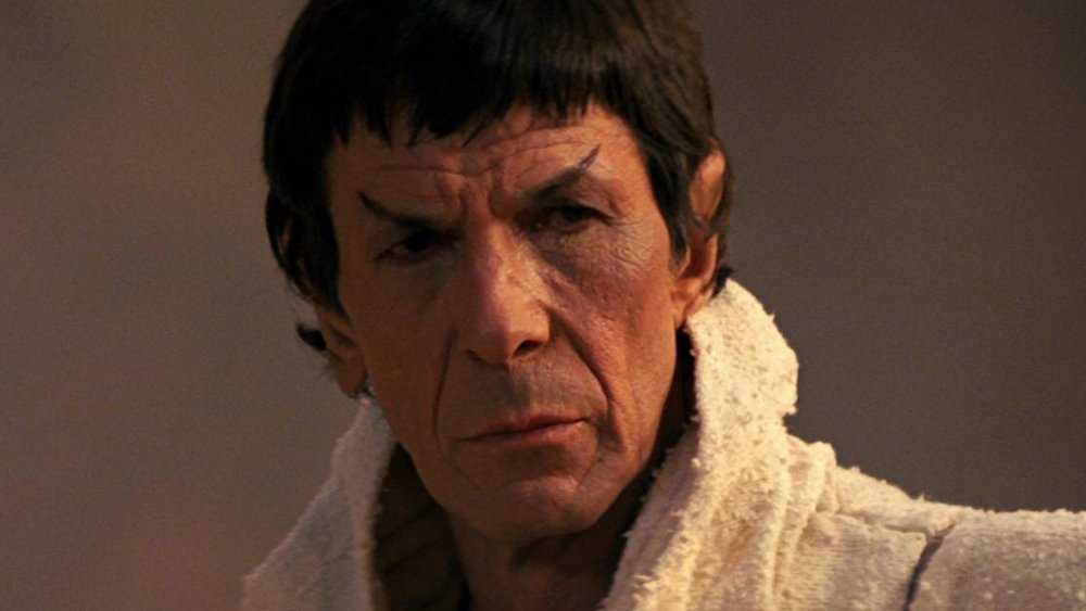 Leonard Nimoy in Star Trek III: The Search For Spock