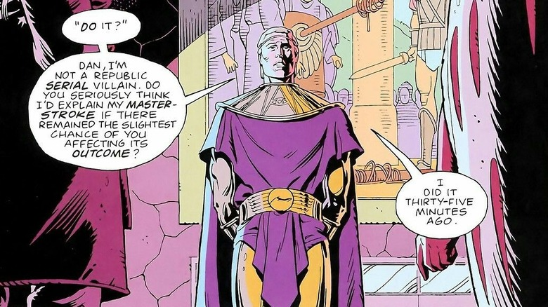 "Adrian Veidt/Ozymandius by Dave Gibbons from ""Watchmen"""