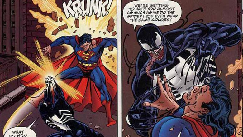 Venom vs Superman