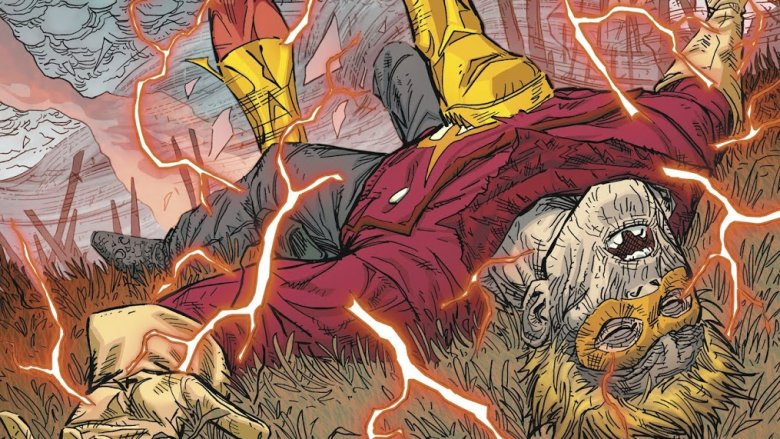 Johnny Thunder's death from Flash #57