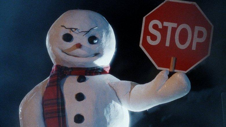 Killer snowman in Jack Frost