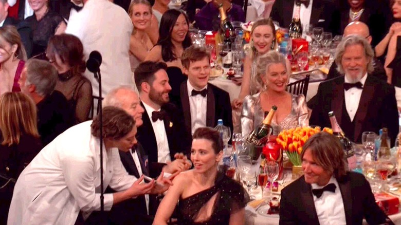 The flu shots at the Golden Globes