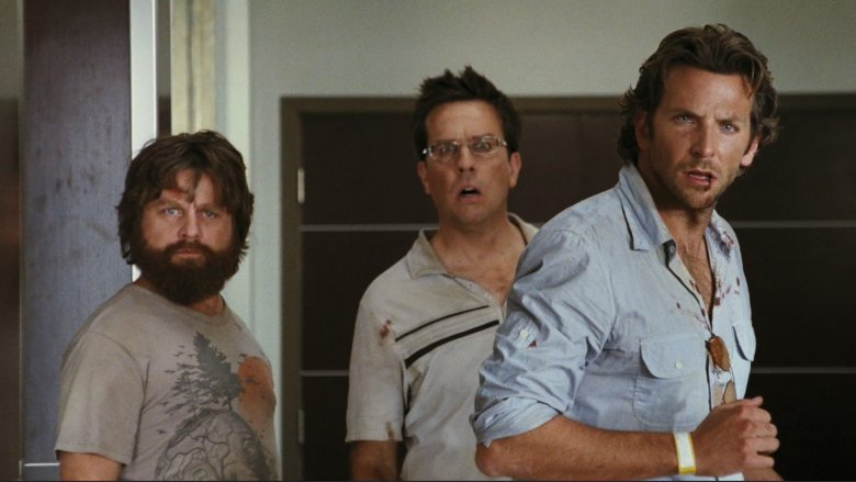Scene from The Hangover
