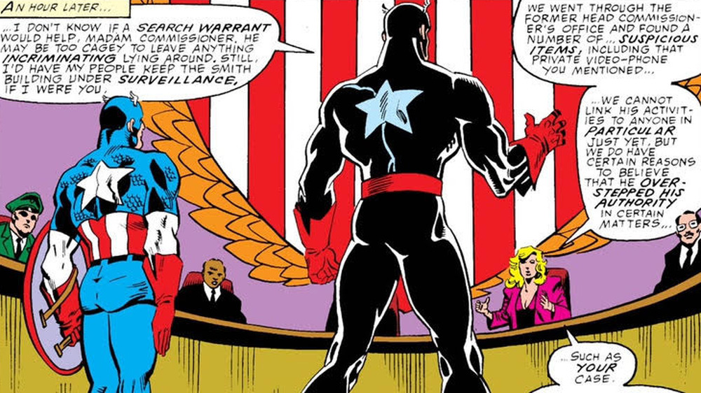 Captain America on trial with the CSA