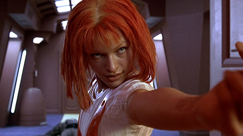 Milla Jovovice in The Fifth Element