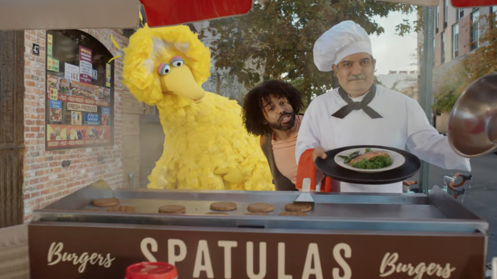 Big Bird, Daveed Diggs, and chef