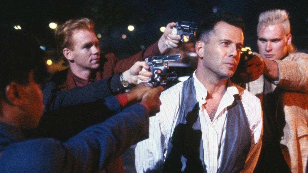 Hudson Hawk held at gunpoint
