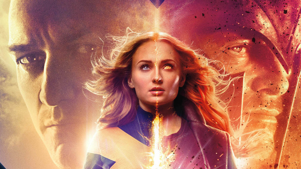Jean Grey becoming Dark Phoenix