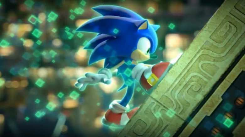 Sonic in Sonic Colors
