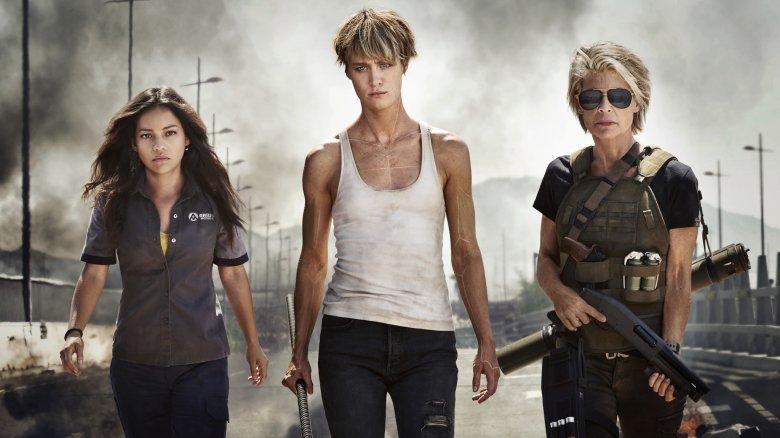 The ladies of Terminator 6