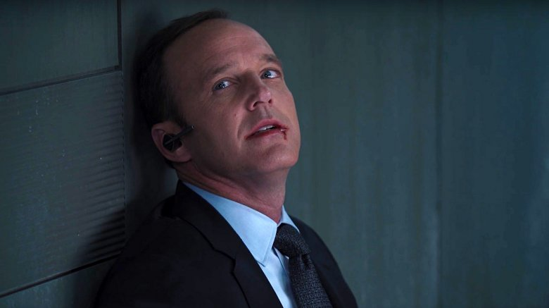 Agent Coulson dying