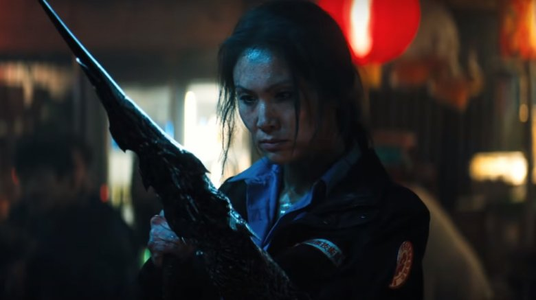 Michelle Lee in Venom