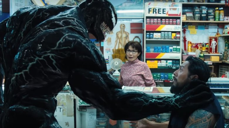 Venom, Mrs. Chen, and a bad guy