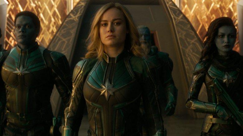 Captain Marvel Starforce team