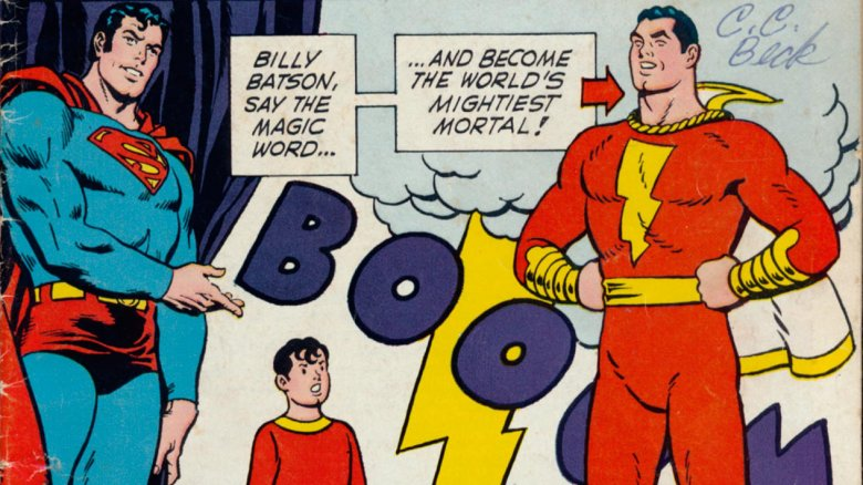 Superman welcomes Shazam to DC Comics