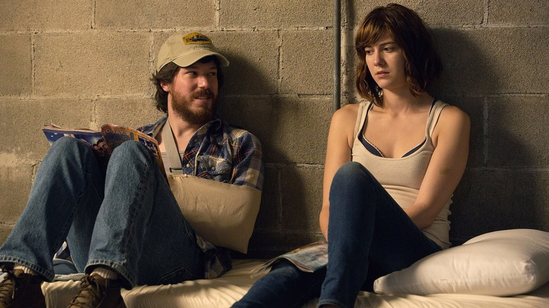 Mary Elizabeth Winstead and John Gallagher Jr. in 10 Cloverfield Lane