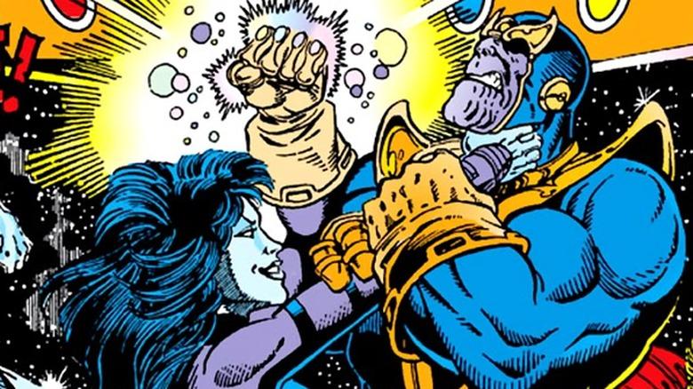 Nebula vs. Thanos