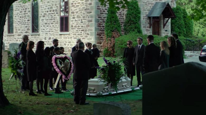Ellie funeral