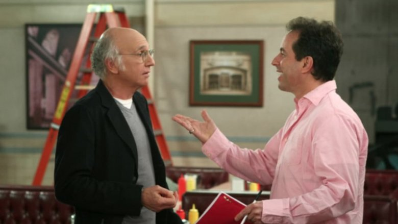 Jerry talking to Larry