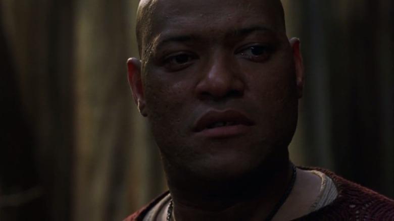 Lawrence Fishburne as Morpheus in The Matrix Revolutions