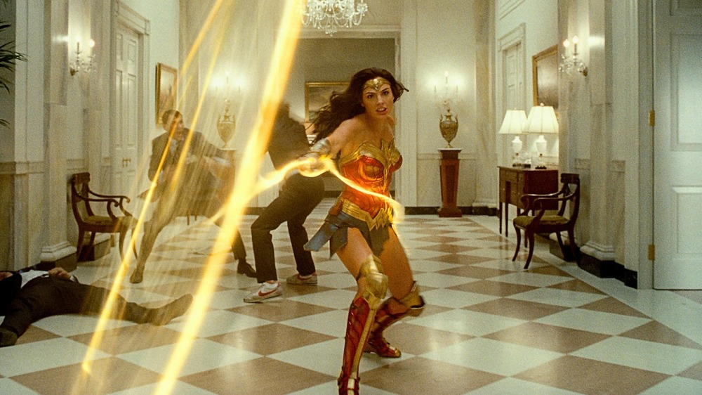 Wonder Woman wields her lasso in the White House