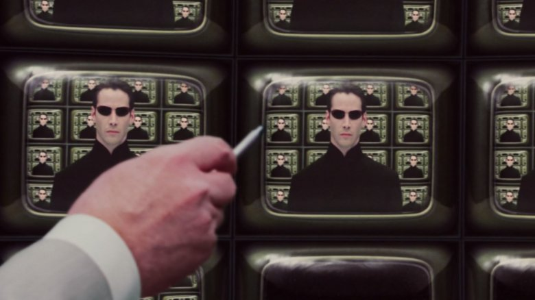 Scene from The Matrix Reloaded