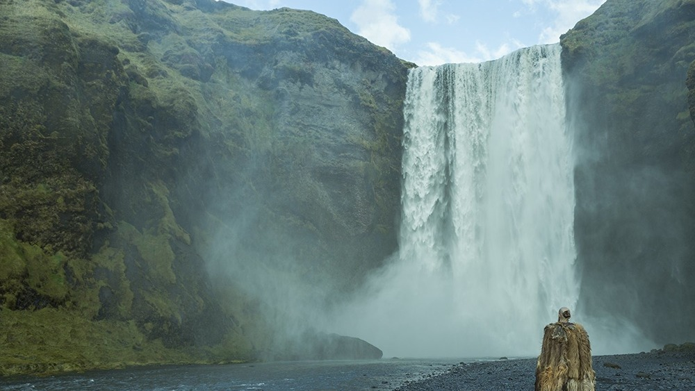 Floki discovers Iceland