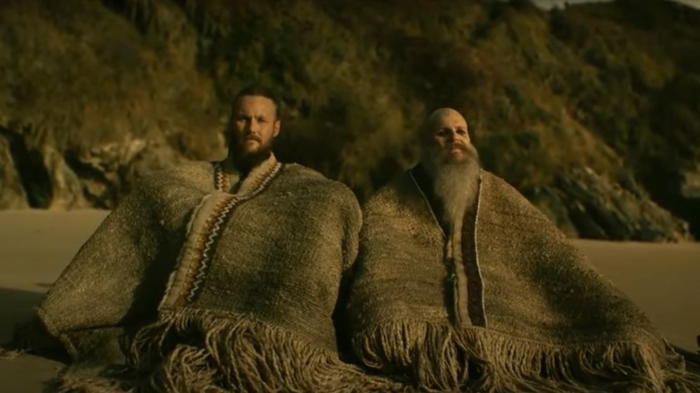 Ubbe and Floki in North America