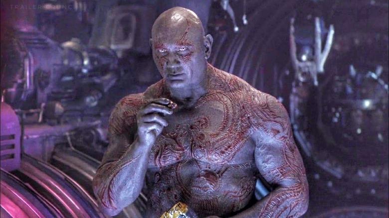 Dave Batista in Avengers: Infinity War