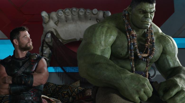 Scene from Thor: Ragnarok.