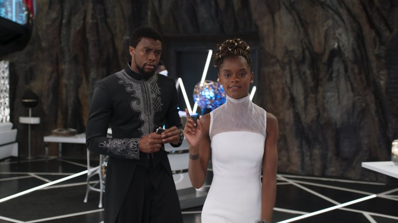 Scene from Black Panther