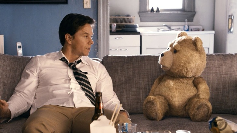 The stars of the movie Ted