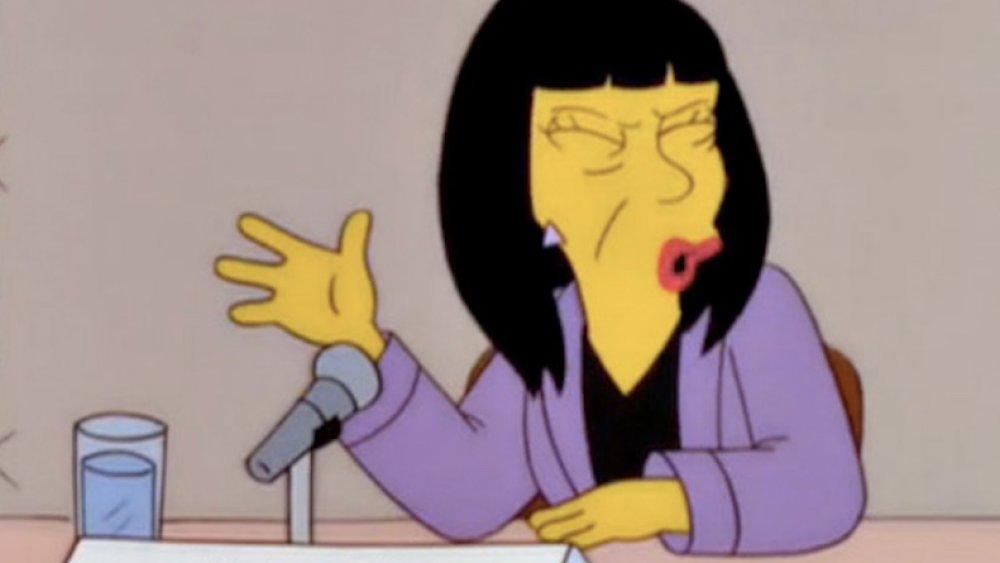 As Aparições na história dos Simpsons Mais Bizarras 10