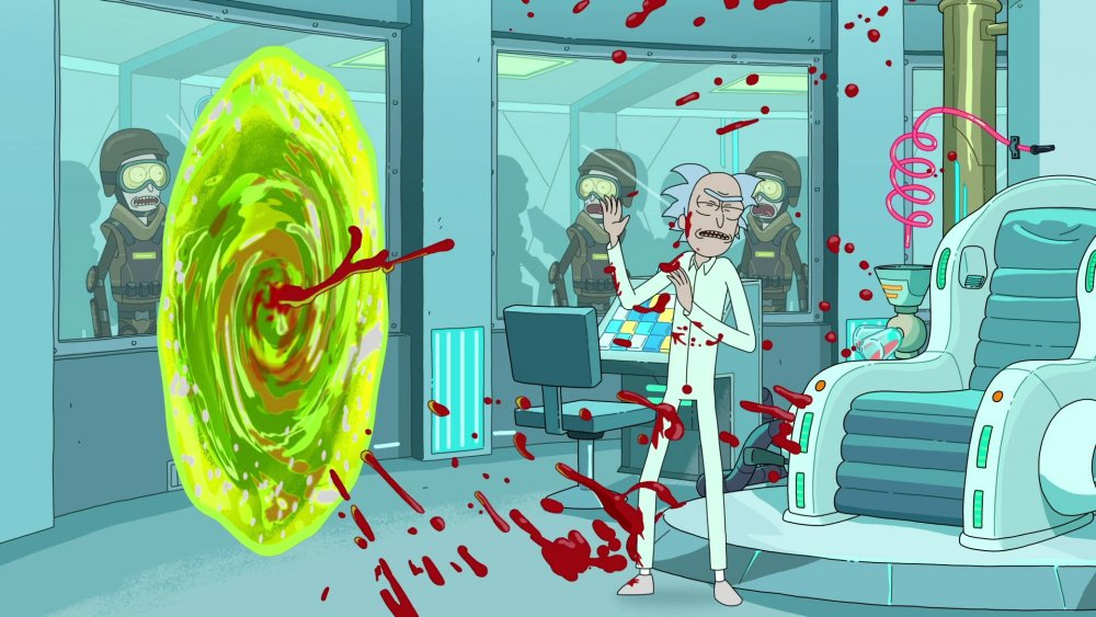 Still from Rick and Morty S3E07