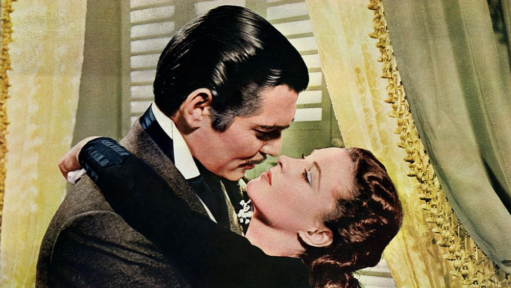 (from left to right) Clark Gable and Vivien Leigh in Gone With the Wind