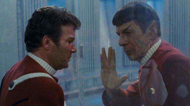 Spock says goodbye