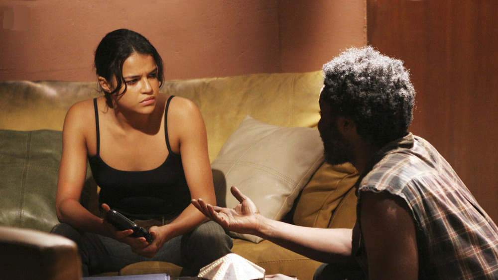 Michelle Rodriguez as Ana Lucia on Lost